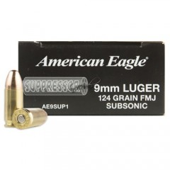 American Eagle 9x19 Subsonic