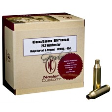 Гилзи Nosler Custom Brass 243  50бр.