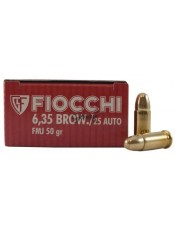 Fiocchi 6.35 BROWNING FMJ