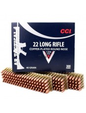 Патрони CCI .22LR AR TACTICAL 22 40GR. CPRN