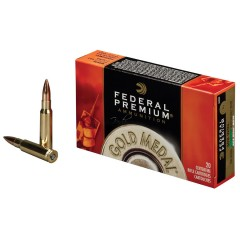 Патрони Federal Premium .308 WIN 168GR. Sierra MatchKing BT HP