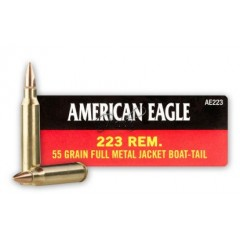 Патрони Federal American Eagle .223 REM 55GR FMJ Boat Tail