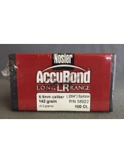 Куршуми Nosler Accubond Long Range 6,5mm/.264 142GR SP