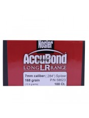 Куршуми Nosler Accubond Long Range 7mm/.284 168GR SP
